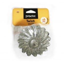 "Cake cups "" Twist"" pattern 96 mm - 2pcs."