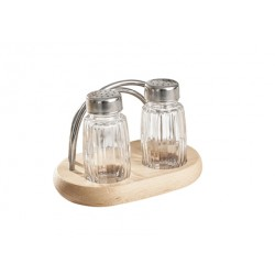 Condiments and napkin holder