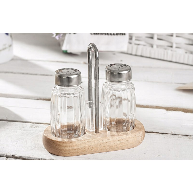 2 piece condiments set
