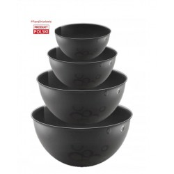 SET OF 4 BIO HEMP BOWLS...