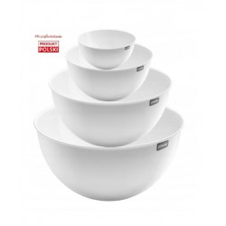 SET OF 4 BOWLS COLOR WHITE