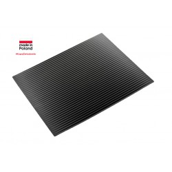 Draining FLEXI mat L black...