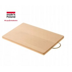 CHOPPING BOARD WITH METAL HANDLE