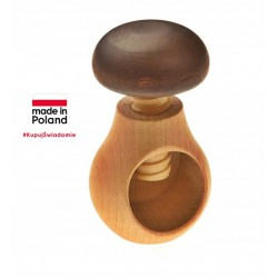 "Beech wood nut cracker ""..."