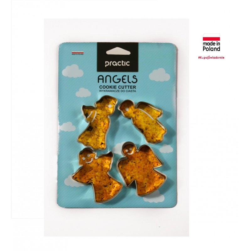 "Cookie cutters ""Angel"" 4 pcs."