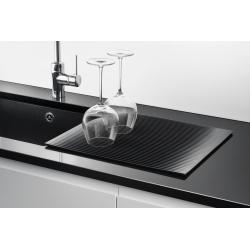 Draining FLEXI mat L black color