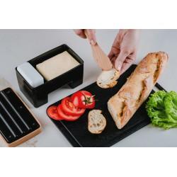Plastic chopping board S 25,5x17 cm black
