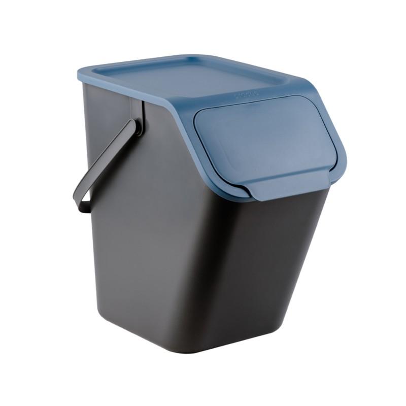 BINI pojemnik do segregacji odpadów kolor niebieski