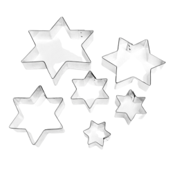 "Cookie cutters ""Star"" 6 pcs."